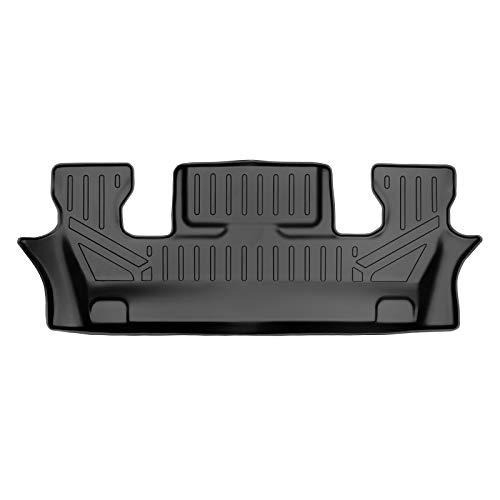 SMARTLINER Custom Fit Floor Mats 3rd Row Liner Black for 2020-2021 Ford Explorer...