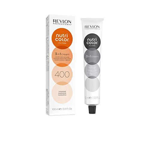 Nutri Color FILTERS – FASHION FILTERS 400 Mandarine, 100 ml, pflegende Farbmaske mit INSTA-PIC-TECHNOLOGY™, Tönungsmaske für aufregende Farbergebnisse & intensive Haarnuancen