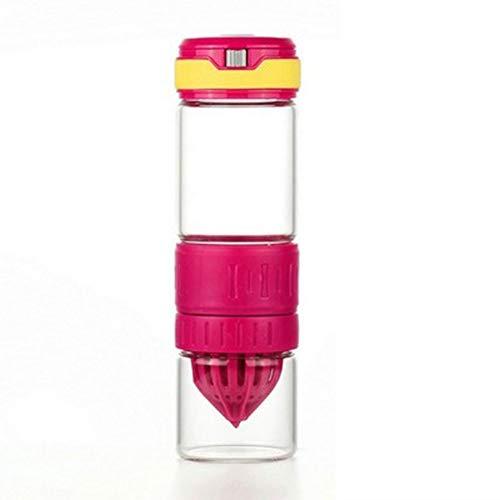 CHUANGJIE Lemon Cup Cup handmatig sap mok vitaliteit fles grote capaciteit cup polyester gel D