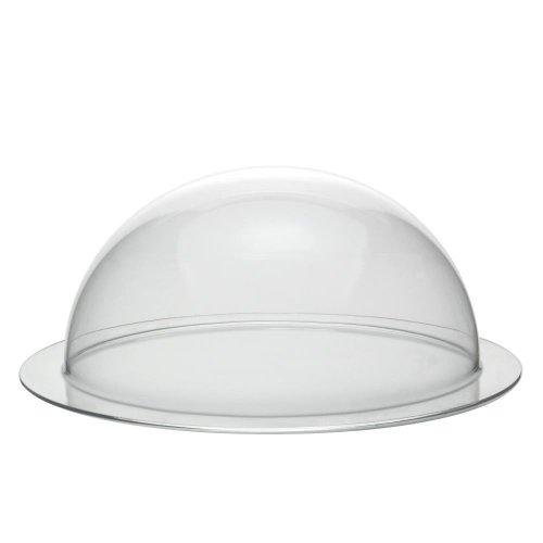 Acrylglas/Plexiglas® Halbkugel mit 200mm Durchmesser und umlaufender Krempe - Zeigis®