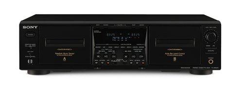 Sony TC-WE675 Doppel-Kassettendeck schwarz