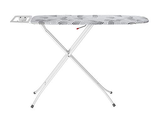 Wenko Bügeltisch Base Bügelbrett, mehrfach höhenverstellbar, Metall, Weiß, 110 x 30 cm - 3