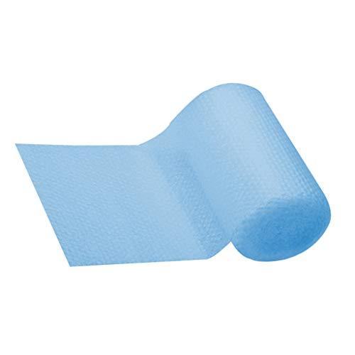 Cubierta solar para piscinas de varias formas, fácil de configurar y marco para piscinas, rectangular, protección para pies sobre el suelo, protección azul, plástico abs, B, talla única