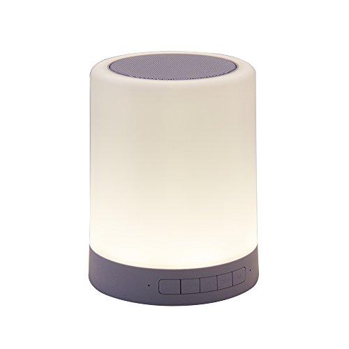 Enceinte Bluetooth tactile multifonctions : haut-parleur enceinte, lampe LED, lecteur carte mémoire micro SD