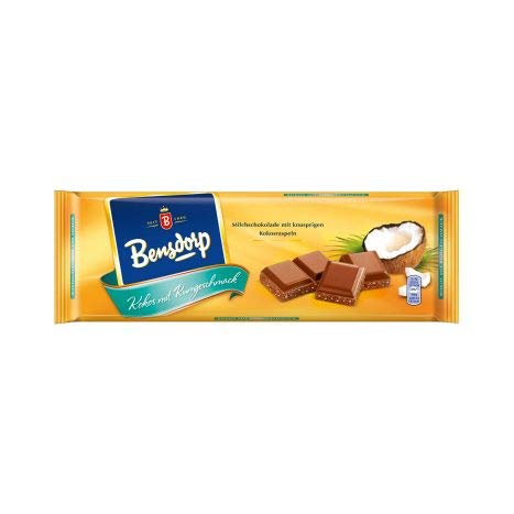 Bensdorp Schokoladentafel (1 x Kokos mit Rumgeschmack)