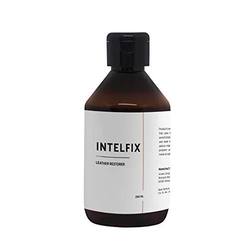Lederen glans-restaurator van INTELFIX 250 ml I Verzorgt & beschermt lederen oppervlakken I Natuurlijke herstel van de leerglans van banken, handtassen, jassen en andere lederen oppervlakken