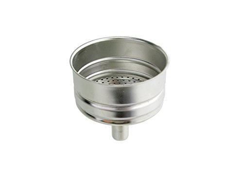 Alessi 546 Embudo para cafeteras Tazas 1, aluminio, gris