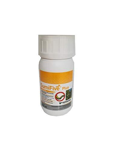 Insecticida amplia acción persistencia SUMIFIVE PLUS JED 250ml pulgon, orugas...