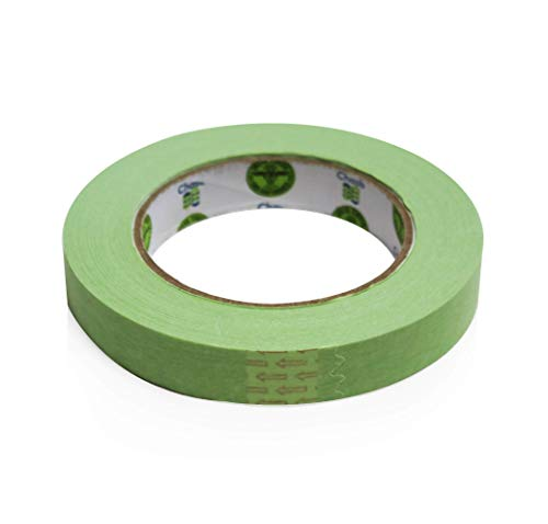 """Insta Finish Automotive Masking Tape 48 Rolls - Green Auto Masking Tape for Industrial and Commercial Use - Easy Stick and Release Automotive Paint Tape - Masking Paper Painting Tape - .75"""" Tape Photo #5"""