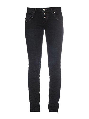 M.O.D. Damen Jeans Ulla Slim Leg smoked black 28/32