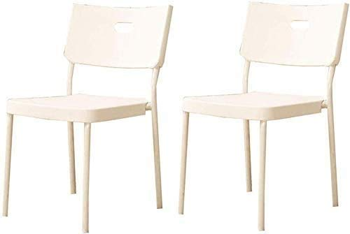 Elegante silla oficina, silla giratoria Silla de comedor moderna   Silla de oficina con soporte de espalda baja   Silla de escritorio de materiales de plástico para cocina Hogar Oficina Comedor Mueble