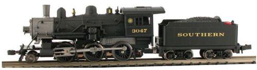 Steam 2-6-0 Mogul - Standard DC -- Southern Railway -  Model Power, 87610