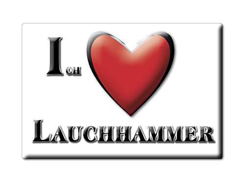 Enjoymagnets LAUCHHAMMER (BB) Souvenir Deutschland Brandenburg Fridge Magnet KÜHLSCHRANK Magnet ICH Liebe I Love