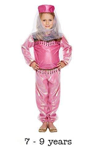 Disfraz infantil Bollywood niña MEDIANO 7-9 AÑOS