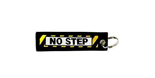 Akachafactory Porte cles Remove Before Flight Voiture Moto Avion Aviation Pilote NO Step