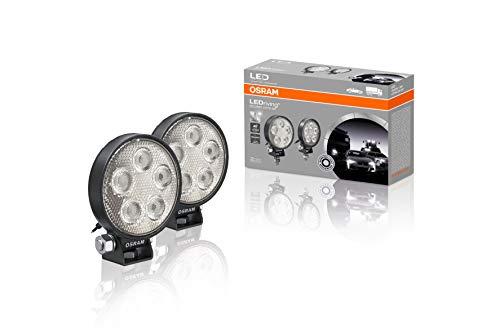 LEDriving ROUND VX70-SP, OFF ROAD LED Zusatzscheinwerfer für Fernlicht, Spot, 550 Lumen, Lichtstrahl bis zu 53 m, Fernlicht, runde LED Spots im Duo-Pack (2 Stk)