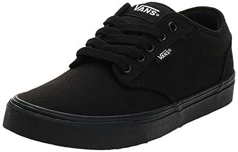 Vans Atwood Canvas, Sneaker Hombre, Negro (Black 186), 43 EU