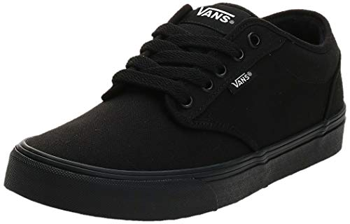 Vans Atwood Total, Baskets Basses Homme, Noir (Canvas Black/Black), 43 EU