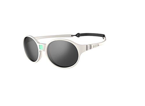 Ki ET LA – Gafas de sol para Bebé modelo Jokakids – 100% irrompibles - color Crema – 4-6 años
