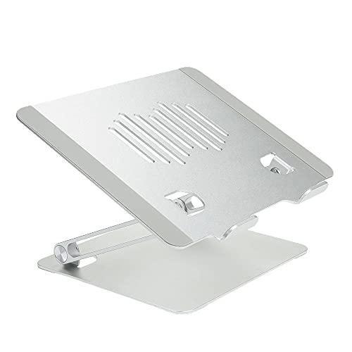 RUMUI Soporte para portátil Soporte Plegable para portátil Radiador de aleación de Aluminio Gran Capacidad de Carga Base de Montaje portátil para Oficina en casa