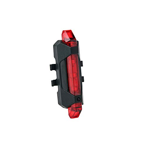 SIWEI Rücklicht Hinten Fahrrad USB Wiederaufladbare Fahrradrücklicht Blinkende Sicherheitswarnlampe Passt auf Alle Rennräder Fahrrad Sicherheit Taschenlampe