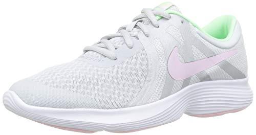 NIKE Jungen Nike Revolution 4 (Gs) Laufschuhe, Mehrfarbig (Pure Platinum/Pink Foam/Platinum Tint 006), 38 EU