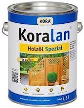 Koralan Holzöl Spezial 10,0l UV-Natur