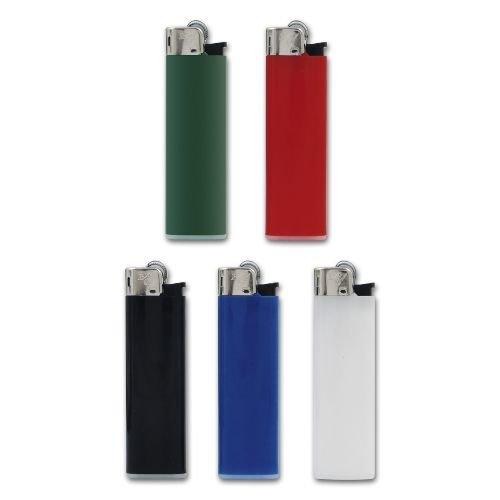 Feuerzeug Einweg BX7 aus Kunststoff in Unifarben 50 Stück