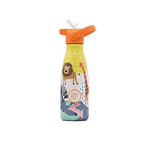 Botellas Acero Inoxidable Niños Pajita Marca Cool Bottles