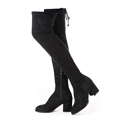 Women's Over Knee Lace Up Boots