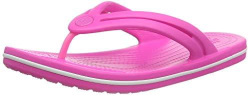 Crocs Damen Crocband Flip W Zehentrenner, Electric Pink, 39/40 EU
