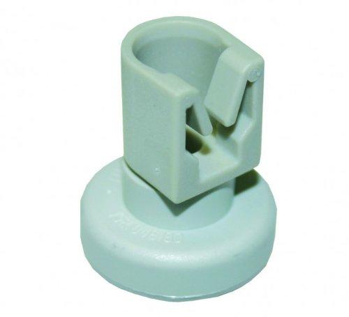 Korbrolle für Oberkorb, 1 Stück Ersatz=107302 hellgrau, eingesetzt in Spülmaschinen