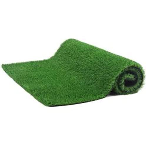 WBTY Tapis de gazon artificiel, gazon synthétique durable, tapis décoratif pour intérieur ou extérieur, pelouse artificielle de haute densité