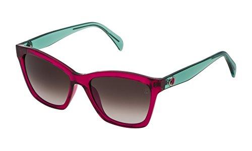Tous Damen STO996-5301BV Sonnenbrille, Transparent, 53/17/140