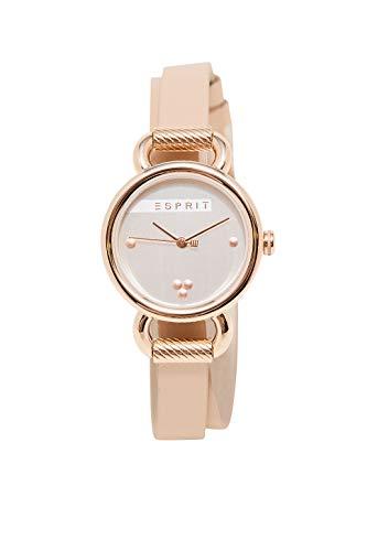 Esprit Uhr mit doppeltem Lederarmband