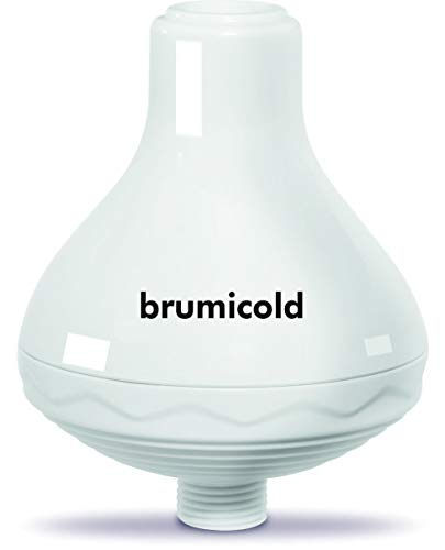 BRUMICOLD SPAIN filtro ducha TAP SPA elimina cloro, metales pesado, microplasticos, ablanda la cal, suaviza pelo y la piel, Ultrafiltración en el baño, ideal para pieles atopicas