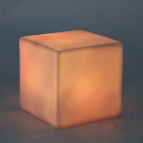 Wlnnes Led Bar Cube Stuhl im Freien Garten-Licht 16RGB Farbe Landschaft Beleuchtung Moderne Cube Led Hocker Ktv Diskothek Bar Tisch Und Stühle (Color : 35cm*35cm*35cm)
