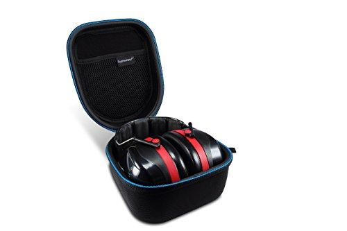 Supremery Tasche für 3M Peltor Optime III 3 Kapselgehörschutz Case Schutz-Hülle Etui Tragetasche