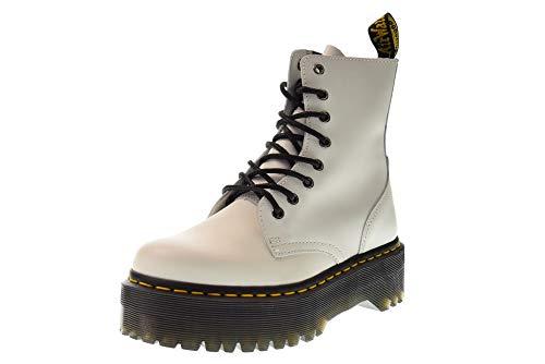 Dr. Martens Jadon, Zapatos de Escalada para Mujer, Color Blanco 15265100, 36 EU