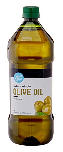 Amazon Brand - Happy Belly Extra Virgin Olive Oil, Mediterranean Blend, 51 Fl Oz
