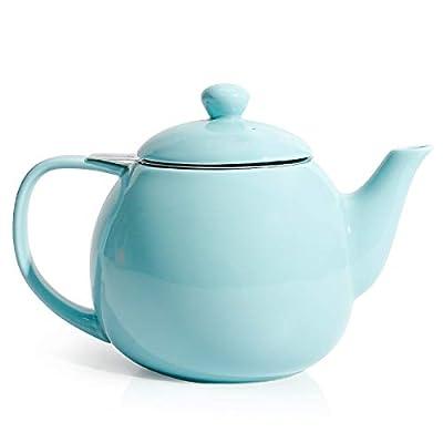 Sweese Théière en Porcelaine avec passoire à thé 800 ML