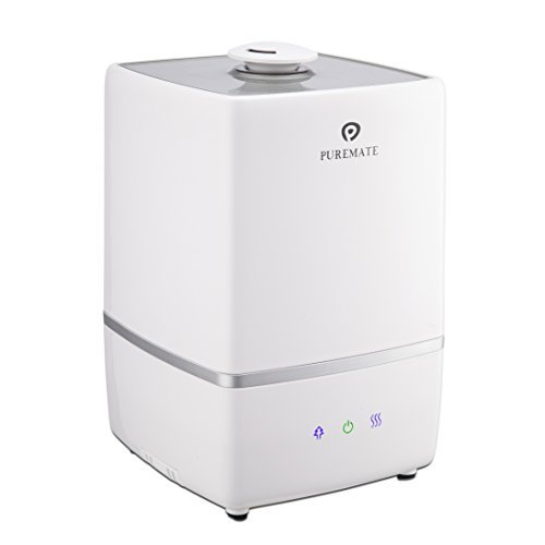 PureMate® PM 805 Ultrasonic Cool & Hot Mist Humidifier with Ioniser &...