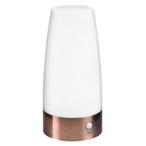 Petyoung Lámpara LED de Luz Nocturna con Sensor de Movimiento PIR ON/OFF/Lámpara de Noche con Batería Automática