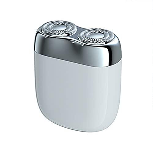 WWDKF Afeitadora Eléctrica, IPX6 A Prueba De Agua, Mini Maquinilla De Afeitar Eléctrica Portátil De Metal para Hombres, Regalo De Cumpleaños para Novio Y Esposo,D