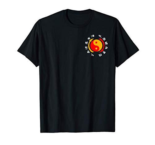 ジークンドー格闘技道場トレーニング Tシャツ
