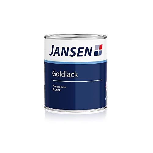 Jansen Goldlack 125ml Metalleffektlack außen und innen