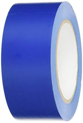 BONUS Eurotech 1BL23.44.0050/033A# PVC Bodenmarkierungsband, Klebstoff auf Kautschuk Basis, weich, Länge 33 m x Breite 50 mm x Dicke 0,17 mm, Blau