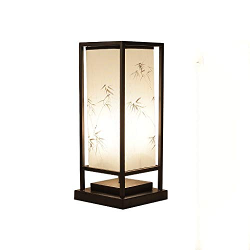 JYDQM Retro Lámpara Estudio Hotel Sala Lámparas de Mesa de Estilo Nuevo Chino lámpara de Escritorio lámpara de cabecera del Dormitorio Sala de Estar lámpara de Escritorio de la Tabla