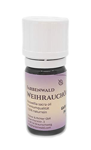 Farbenwald Huile d'encens 100% Boswellia sacra 5 ml