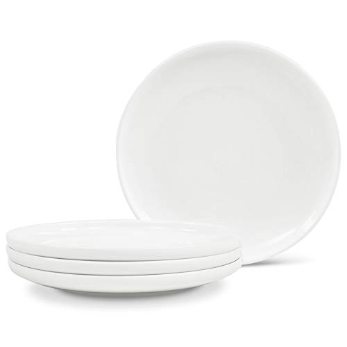 "Noritake Marc Newson Collection Bread & Butter/Appetizer Plates, Set of 4, 6 1/4"" in White"